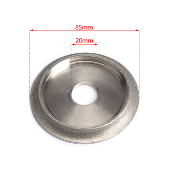 85mm Diamond Grinding Wheel 45 degrees Electroplated Grinder for hard alloy, tungsten steel milling cutters etc