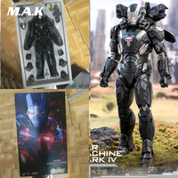 Collectible HOT TOYS 1/6 Scale Avengers War Machine Mark IV MK4 Iron Man Full Set Action Figure Model for Fans Gifts