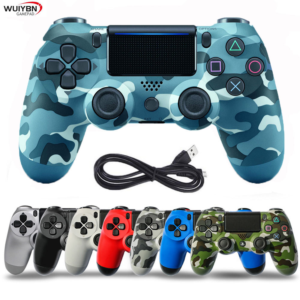 For Wireless Dualshock 4 Controller for SONY PlayStation 4 Wired PS4 Controller Gamepad Joystick