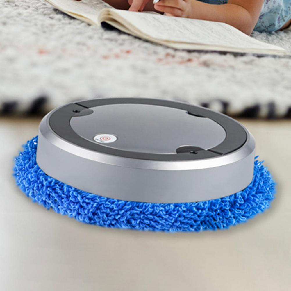 Home floor Mops USB charging vacuum cleaner spin mop machine humidification spray smart sweeping robot disassembly and cleaning