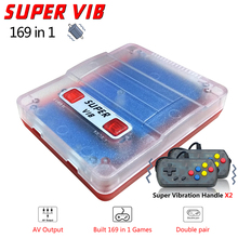 купить Newest Super VIB TV Games Mini TV Game Console 8 Bit Retro Video Game Console Built-In 169 Games Handheld Gaming Player Gift дешево