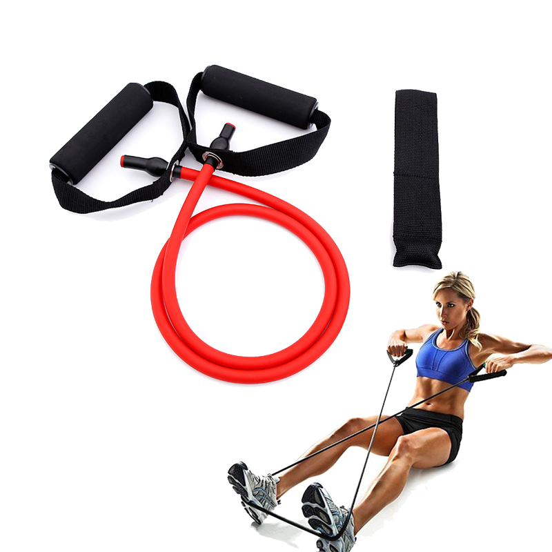 Yoga Belt Elastic Resistance Bands Yoga Pull Rope Fitness Pilates Workout Sport Rubber Elastic String Home Fitness Equipment