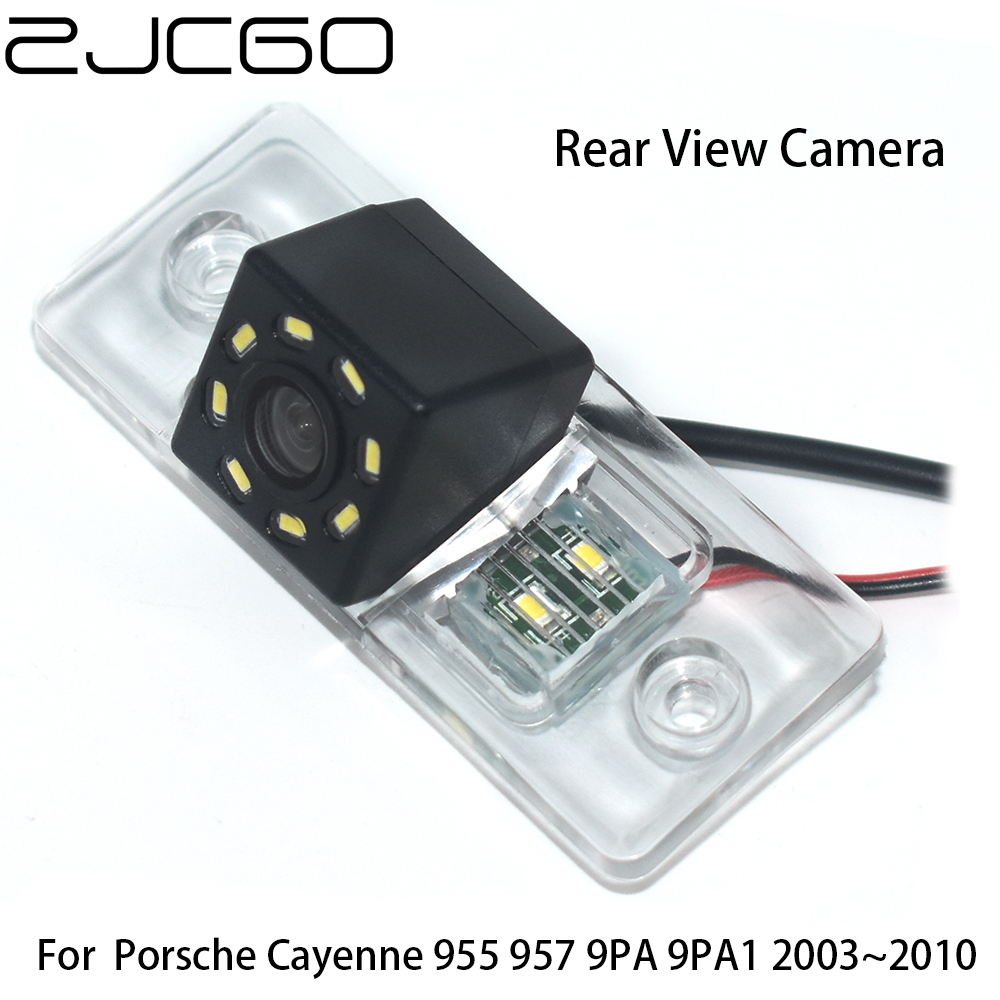 ZJCGO CCD Car Rear View Reverse Back Up Parking Night Vision Waterproof Camera For Porsche Cayenne 955 957 9PA 9PA1 2003~2010