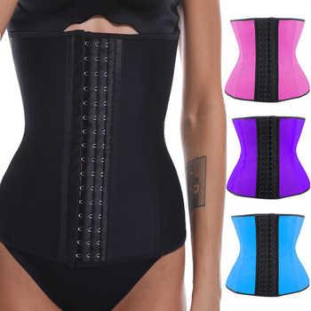 9 Steel Bone Waist Trainer Shapewear Body Shapers Women Corset Slimming Belt Waist Shaper Cinta Modeladora Latex Corset Cincher - DISCOUNT ITEM  35 OFF Underwear & Sleepwears