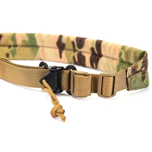 Tactical 2 Point Rifle Sling Shoulder Strap Gun With QD Metal Buckle Belt Accessories