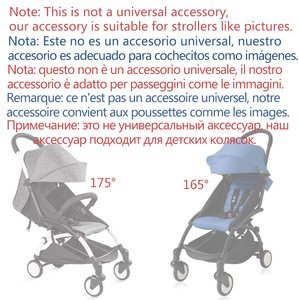 Image 3 - Baby Stroller Accessories for Yoya Yoyo Babyzen Sun Shade Cover +Seat Infant Pram Cushion Pad Sunshade Canopy Buggies for Babies