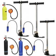 1L Duiken Zuurstof Cilinder Met Ventiel Inflator Bril Kit Duiken Cilinder Onderwater Respirator Snorkelen Zuurstof Tank