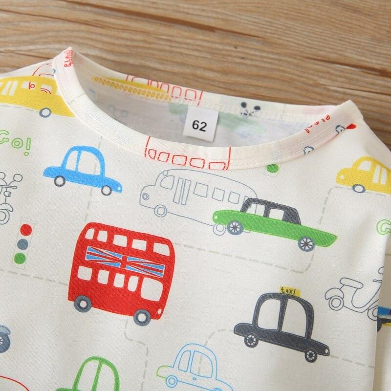 Купить футболка с длинным рукавом и принтом автомобиля на возраст 0