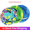 Красочные Летающие Диски EVA, летающий диск для водных видов спорта, пляжа, гольф, Гравитационный диск, бумеранг, уличные игрушки для питомцев...