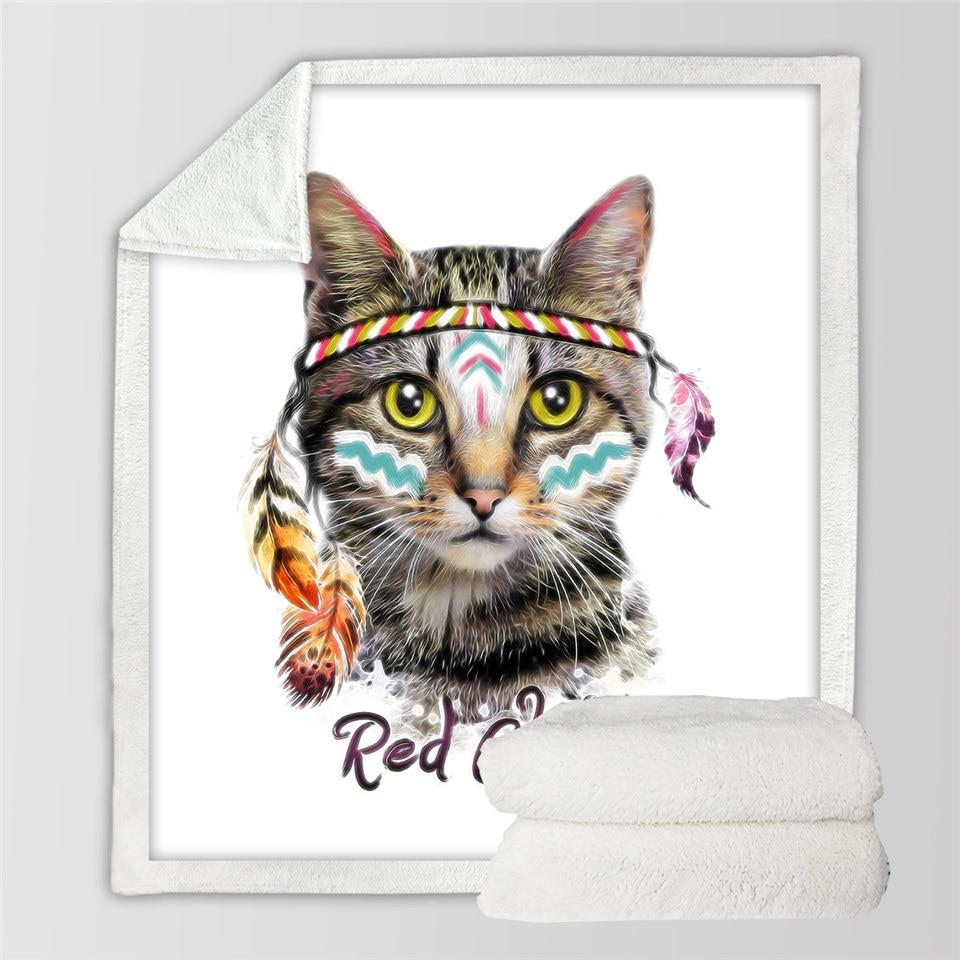 recibiendo Mantas Ahdyr Manta para beb/é Super Soft Corto Malt/és con Gatos Impresos 30 x 40 Pulgadas