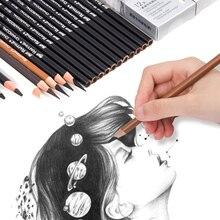 Marco Профессиональный деревянный карандаш для рисования скетчей мягкий Угольные карандаши ручка для студента эскизов товары для рукоделия