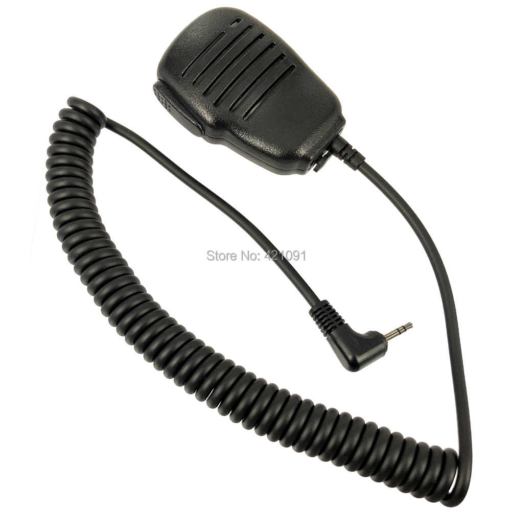 Speaker PTT Microfoon Mic voor Motorola TLKR T80 T60 T5 T7 T5410 T5428 T6200 FR50 XTR446 Walkie Talkie Walkie radio