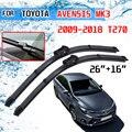 Щетки стеклоочистителя для Toyota Avensis MK3 T27 T270 2009 2010 2011 2012 2013 2014 2016 2015 2017 2018