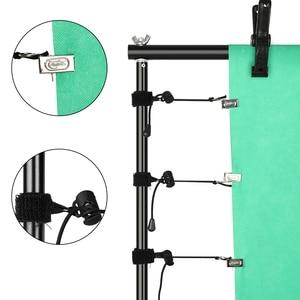 Image 3 - Fotoğraf arka plan Backdrop destek sistemi seti kelepçe ile, taşıma çantası fotoğraf stüdyosu için Youtube fotoğraf arka planında