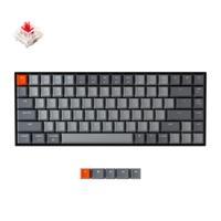 Tastiera meccanica Bluetooth Keychron K2 A V2 con interruttore rosso Gateron/tastiera Wireless A 84 tasti retroilluminata A LED bianco per Mac Windows