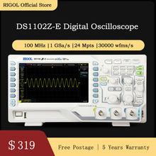 RIGOL DS1102Z-E 100MHz Oscilloscopio Digitale 2 canali analogici()