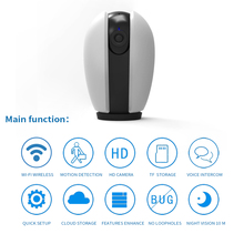 HD 1080P Cloud Wireless IP Video Security Camera Intelligent Auto Home Surveillance room CCTV Network Smart Wifi Mini