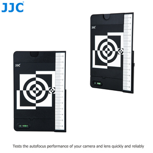 Image 2 - JJC Lens Autofocus Calibration Alignment Test Chart with Color Balance Grey Card For Camera With AF Micro Adjustment Function