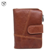 Men's  Women's Leather PU Bifold Short Hasp Vintage Multi-functional Card Wallet Purse Coin Pouch