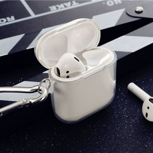 Image 3 - Transparent Soft Silicone Case For Airpods Wireless Headphone TPU For Apple Air Pods 2 Earphone Box Anti Shock Protective Cover