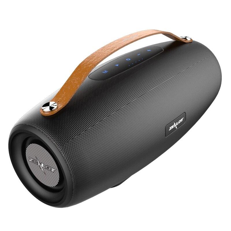 38W puissance zélot/fanatique S27 sans fil extérieur portable Bluetooth haut-parleur subwoofer portable carte audio TF carte U disque