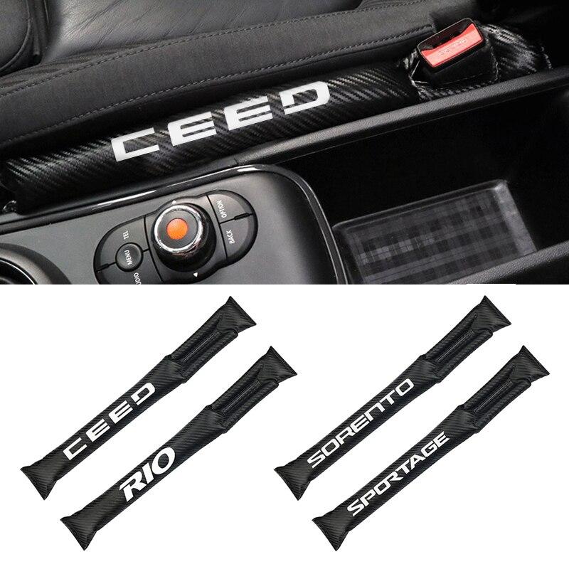 Interior accessories Universal Size carbon fiber car styling for KIA sportage ceed kia sorento soul cerato Car Styling