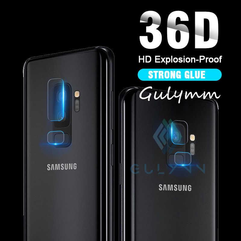 36D กล้องป้องกันฟิล์มสำหรับ Samsung S8 S9 J4 J6 Plus Screen Protector Clear กลับเลนส์กล้องเลนส์สำหรับ 10 20 E 30 40 50 60 70 80