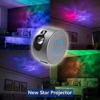 Звездное небо Проектор ЕС вилка Красочный ночник для семьи День Рождения Вечеринка Дети Взрослые спальня Dec Рождественский подарок