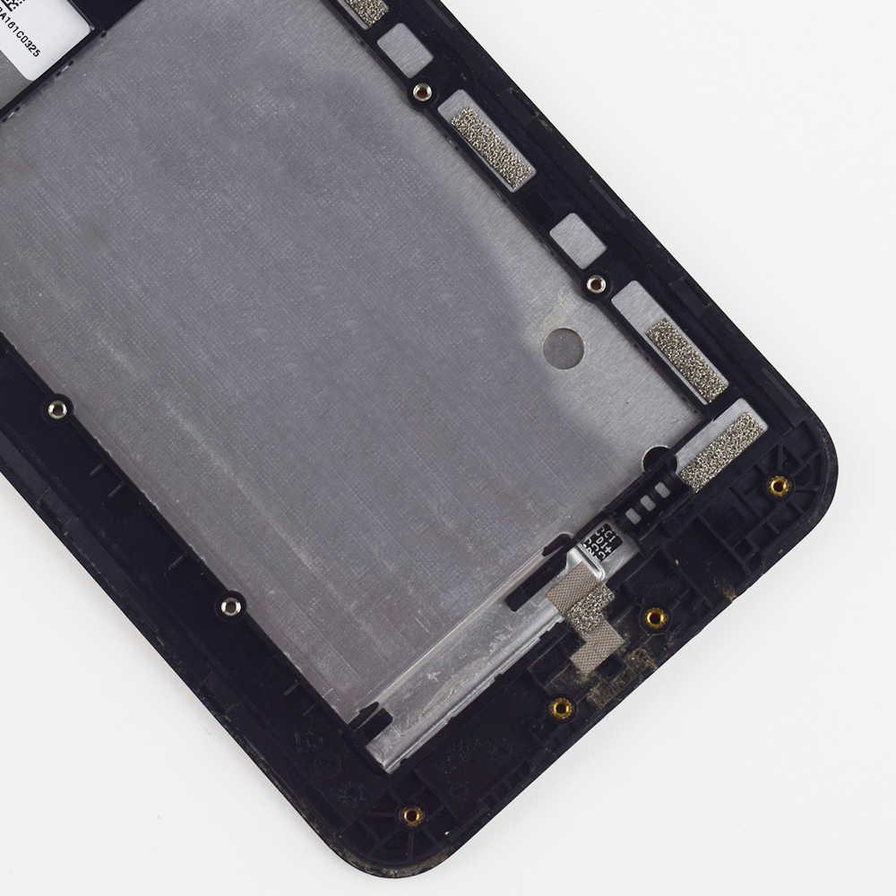 Для ASUS Zenfone 2 Laser ZE550KL Z00LD ЖК-дисплей экран модуль + сенсорный экран дигитайзер сенсор стекло в сборе с рамкой