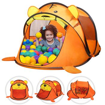 Namiot zabawkowy dla dzieci Cartoon Animal Tiger namiot dla dziec dla dzieci gra sportowa na świeżym powietrzu namioty dla dzieci zagraj w zabawki domowe dla chłopców tanie i dobre opinie TouchCare Tkaniny Keep Away From Fire 0-12 miesięcy 13-24 miesięcy 2-4 lat 5-7 lat 6 lat 8 lat 3 lat 3 lat WJ3250#A23-1225
