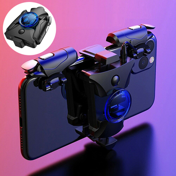 L1 R1 Trigger Mobile Phone Gamepad Controller Shoot Aim Fire Button for PUBG Cell Phone Shooter Gaming Mobile Game Pad Grip L1R1