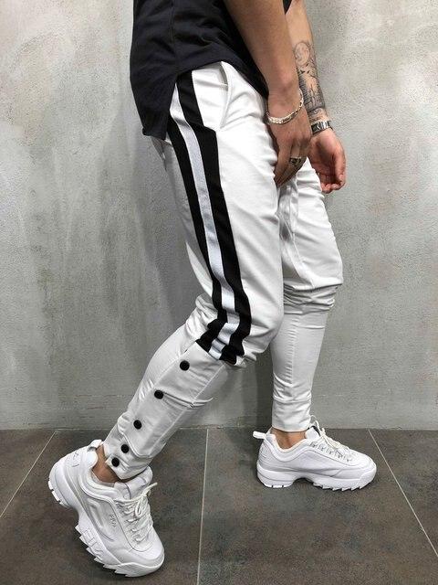 MARKA KRALI-Pantalones de chándal para Hombre, ropa de calle divertida, para correr, Fitness 3