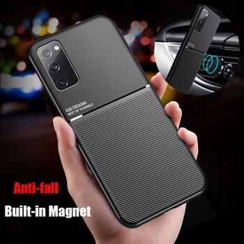 Custodia in pelle di lusso per Samsung Galaxy Note 20 10 9 8 S8 S9 S10 S20 FE Plus Ultra A50 A70 A51 A71 A21S M31 M11 A31 A11 A10 Cover