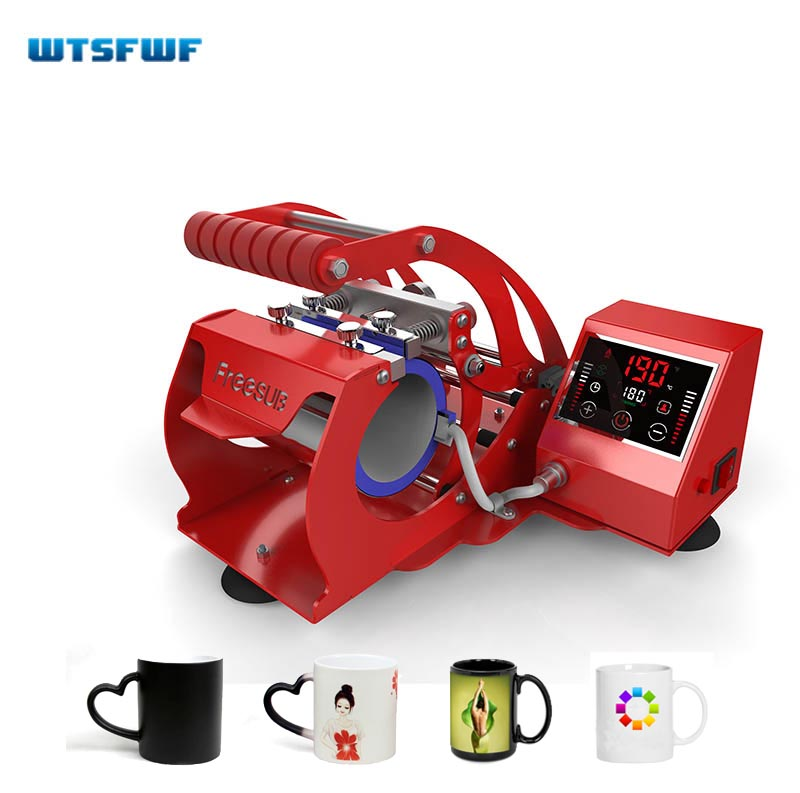 Wtsfwf Mug-Press-Machine Intelligent ST-130 2D Touch-Screen Stable Simple title=