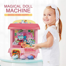 Automatic Coin Large Claw Remote Crane Game Machine USB Charge Acrade Candy Grabber Clip Doll Machine Kids Toy Catcher Game Gift