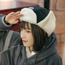 Feng-Cap Hat Women Lei Winter with Thick Warm Northeast Can-Be-Worn Twice To Show Face-Of-The-Little-Girl