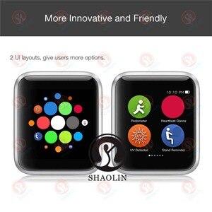 Image 5 - Bluetooth חכם שעון 4 42mm SmartWatch מקרה עבור אפל שעון iOS iPhone 8 בתוספת XS Xiaomi אנדרואיד חכם טלפון לא אפל שעון