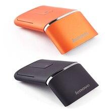 Lenovo ratón táctil inalámbrico N700, con interfaz USB de 1200dpi, para ratón gaming para portátil logitech, ratón abatible bluetooth
