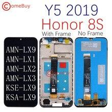 العرض الأصلي لهواوي Y5 2019 LCD شاشة تعمل باللمس مع الإطار ل الشرف 8S LCD AMN LX9 LX1 LX2 LX3 KSE LX9 KSA LX9