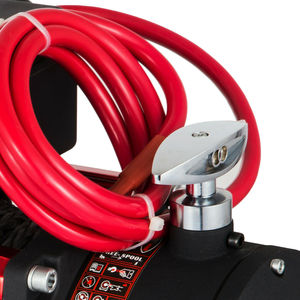 Image 5 - Vevor 12v 13500LBS電気合成ロープウインチ6123.5キロ歯車列ローラーフェアリード電動ウインチatv回復ウインチ
