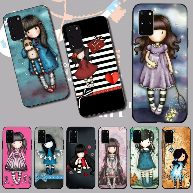 NBDRUICAI Japan Santoro Gorjuss Phone Case Cover for Samsung S20 plus Ultra S6 S7 edge S8 S9 plus S10 5G(China)
