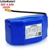 LiitoKala بطارية ليثيوم أيون, بطارية ليثيوم أيون 36 فولت 4.4 أمبير 4400 مللي أمبير في الساعة عالية التصريف 2 عجلة سكوتر كهربائي ذاتي التوازن 18650 بطارية ليثيوم أيون تناسب التوازن الذاتي