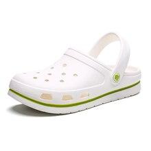Coslony Crocks Brand Clogs Women white sandals Crocse Shoes Croc EVA Lightweight