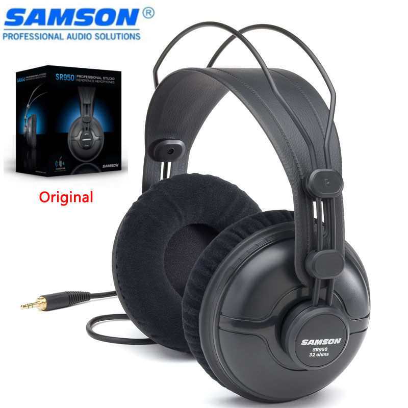 SR950 Professional Studio Reference Monitor Headphone Dynamic Headset Closed Ear Desig For Max Sound Isolation & Noise Reduction image