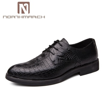 Formal Crocodile Men Shoes