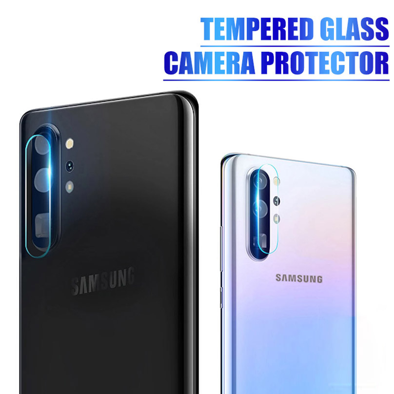 9H <font><b>Camera</b></font> Len Protective Tempered <font><b>Glass</b></font> For <font><b>Samsung</b></font> Galaxy Note 10 10+ 9 8 S10 Plus S10e <font><b>S9</b></font> S8 Plus Hd Lens Protector Film S10e image