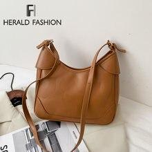 Женская винтажная сумка на плечо Дизайнерские Сумки из искусственной