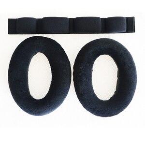 Image 5 - YHcouldin yastıkları Sennheiser HD600 HD 600 HD650 HD 650 kulak yastıkları yedek kulak pedleri kulaklık kulak yastıkları bardak