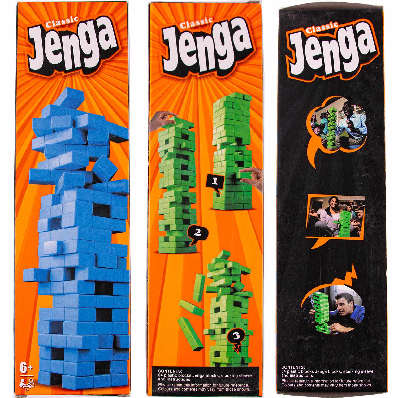 54PCS Jenga Classic Board Game Building Block Interactive Toys Free shipping