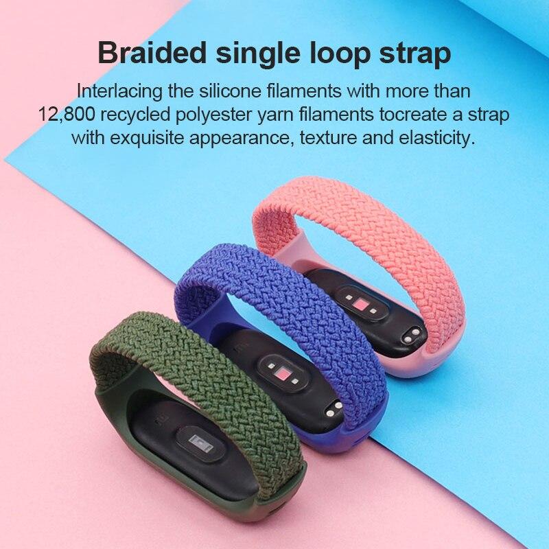12x Armband Uhrenarmbänder Silikon Ersatz Strap Band für Xiaomi Mi Smart Band 5